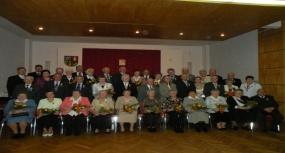 Krzyżanowice - Jubileusz 50-lecia pożycia małżeńskiego