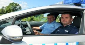 Nowy samochód dla policji - 2019