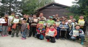 Tworków - Zawody wędkarskie dzieci