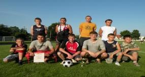 Tworków - Turniej Piłki Nożnej Juniorów o Puchar Wójta Gminy