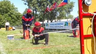 Młodzi strażacy walczyli o Puchar Starosty po raz dziesiąty