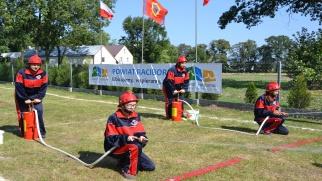 Młodzi strażacy po raz jedenasty walczyli o Puchar Starosty