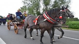 Strażacy z Tworkowa najlepsi na zawodach sikawek konnych