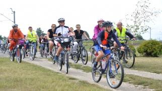 Gminny rajd rowerowy z firmą Alas Utex