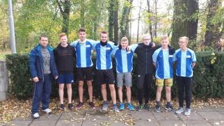 Półfinał wojewódzki w sztafetowych biegach przełajowych w Raciborzu