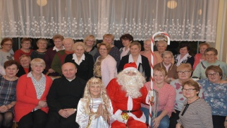 Mikołaj odwiedził gospodynie z Tworkowa