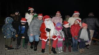 Adwentowe spotkanie przy choince w Bieńkowicach