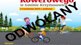 Rajd rowerowy 13 kwietnia (sobota) ODWOŁANY