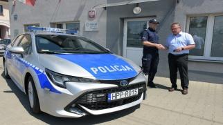Gmina wsparła zakup radiowozu dla miejscowej policji