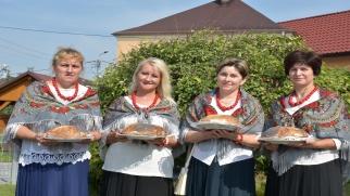 Podziękowanie za plony - dożynki w Krzyżanowicach