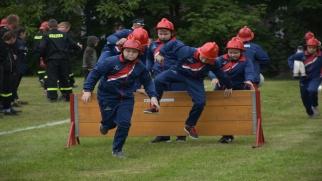 Młodzi strażacy walczyli o Puchar Starosty
