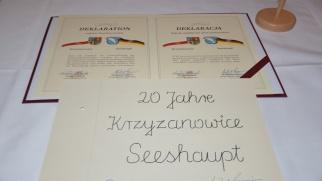 20-lecie partnerstwa z gminą Seeshaupt
