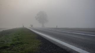 Ostrzeżenie - gęsta mgła