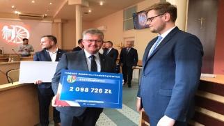 Ponad 2 mln zł dla Gminy Krzyżanowice w ramach tarczy dla samorządów