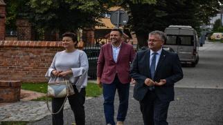 Konsul Generalny RP w Ostrawie z wizytą w gminie Krzyżanowice